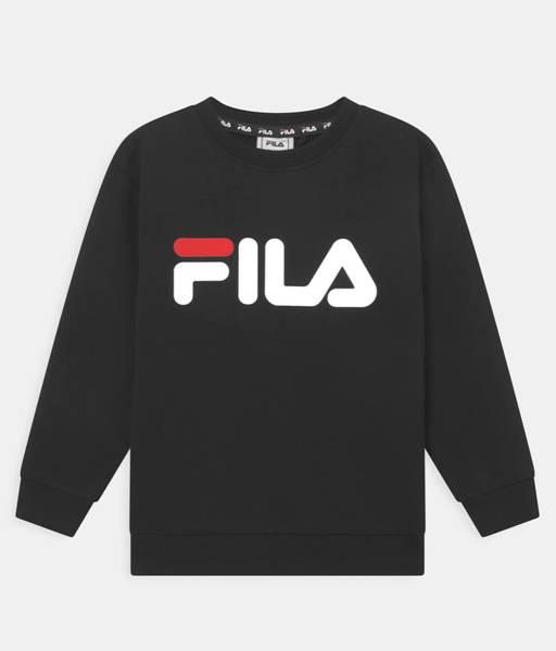 Bilde av Fila TIM Logo Crew UNISEX - Sweatshirt - Black