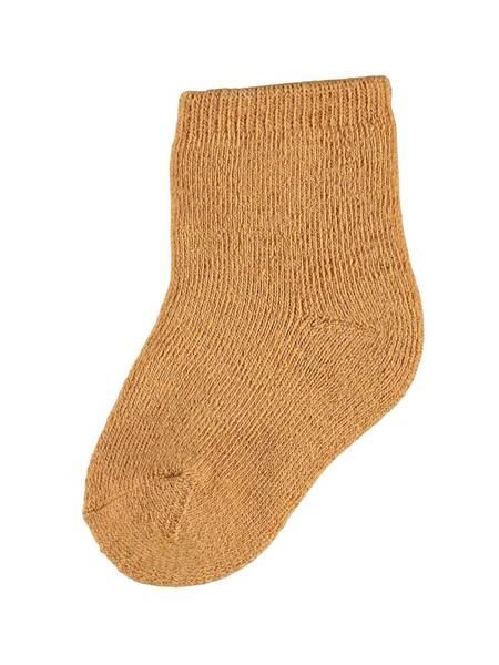Bilde av NbfWaksi wool terry sock - Brown Sugar