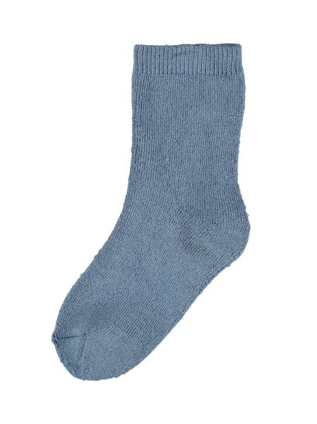 Bilde av NmmWaksi wool terry sock - China Blue