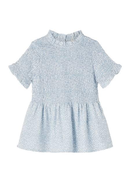 Bilde av NkfDorar ss Slim Shirt - Dusty Blue