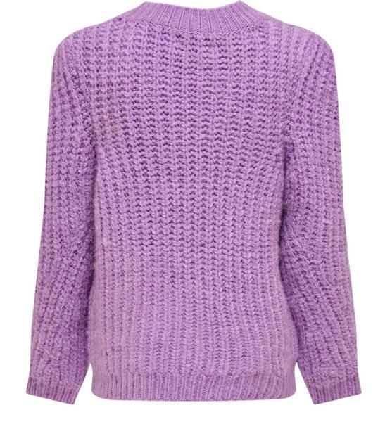 Bilde av KonErica l/s pullover knit - Crocus petal