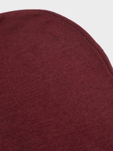 Bilde av NmfWillit wool balaclava - Red Mahogany