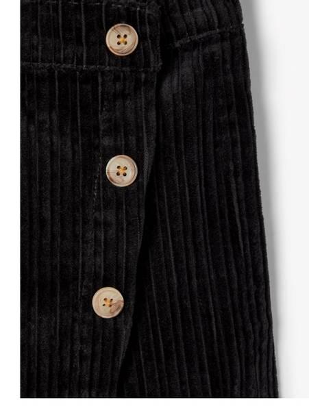 Bilde av Nkfbecky cordbatucks shorts-skirt - black