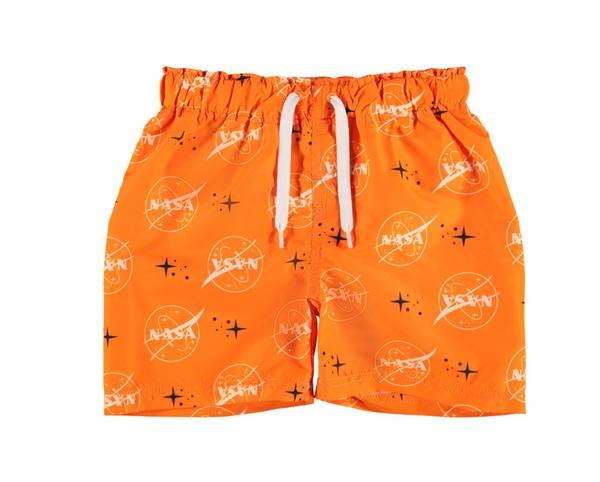 Bilde av NkmNASA Art Swimshorts - Shocking Orange