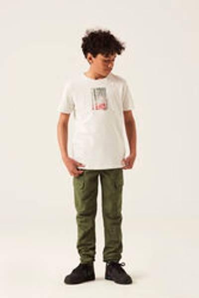 Bilde av Garcia t-skjorte med fotoprint - White melee